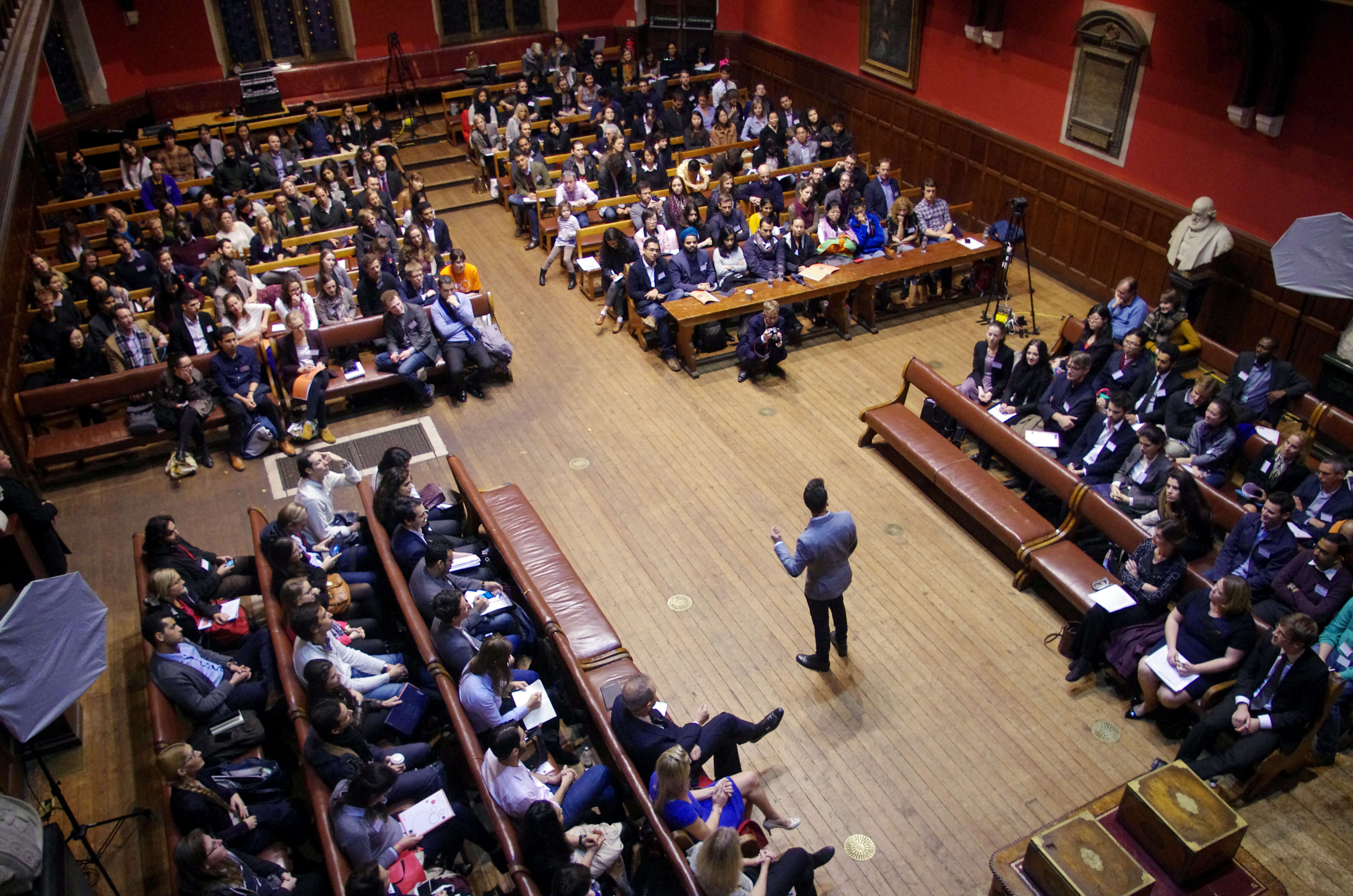 Oxford Union Debating Chamber