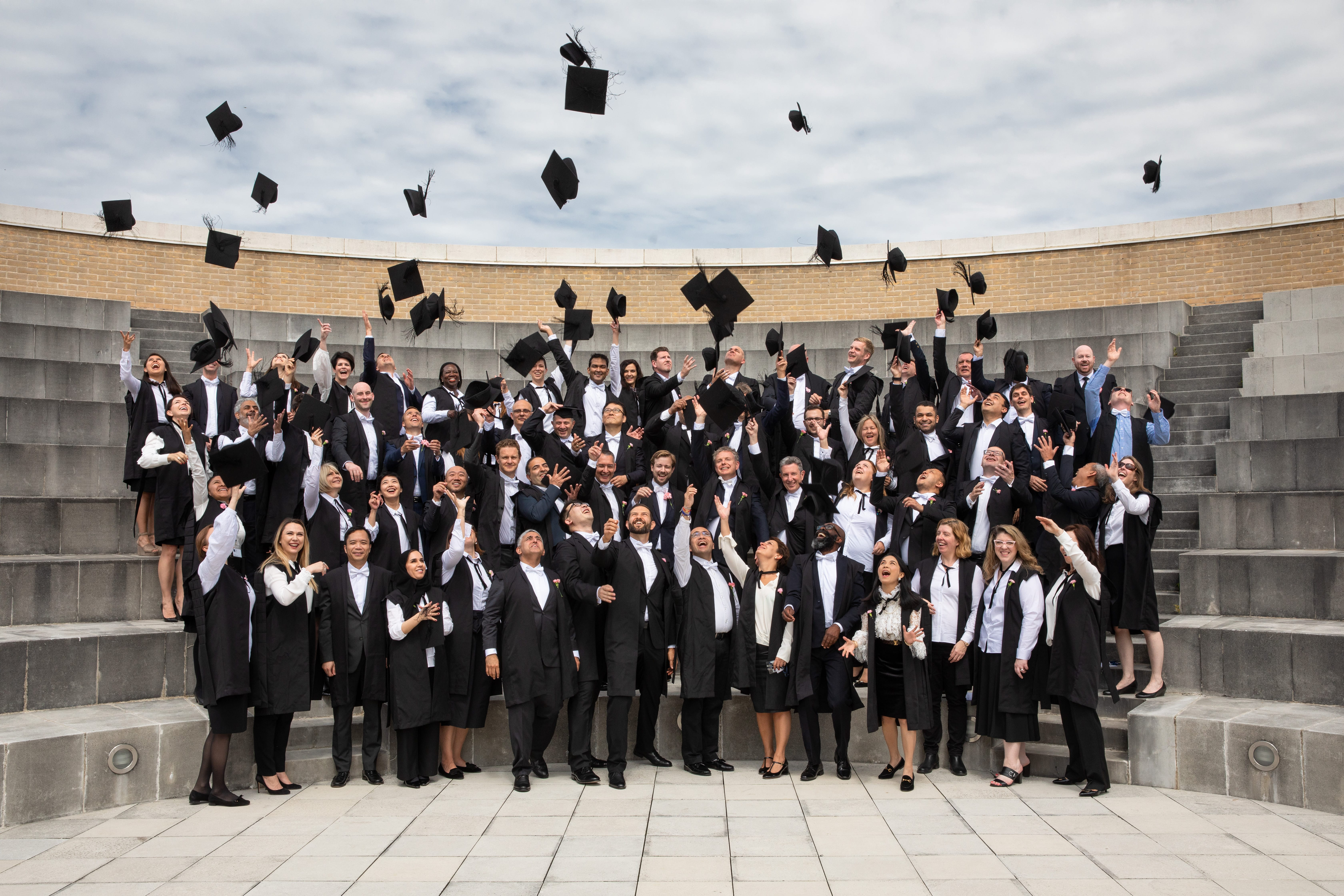 Diploma in Organisational Leadership graduation