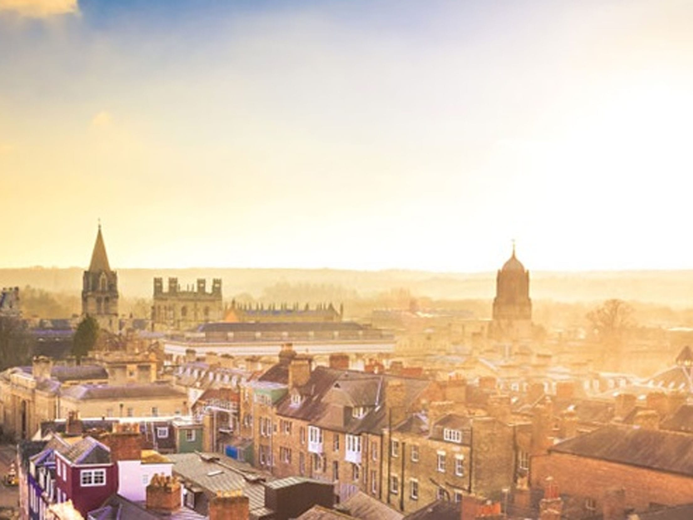 Morning skyline of Oxford