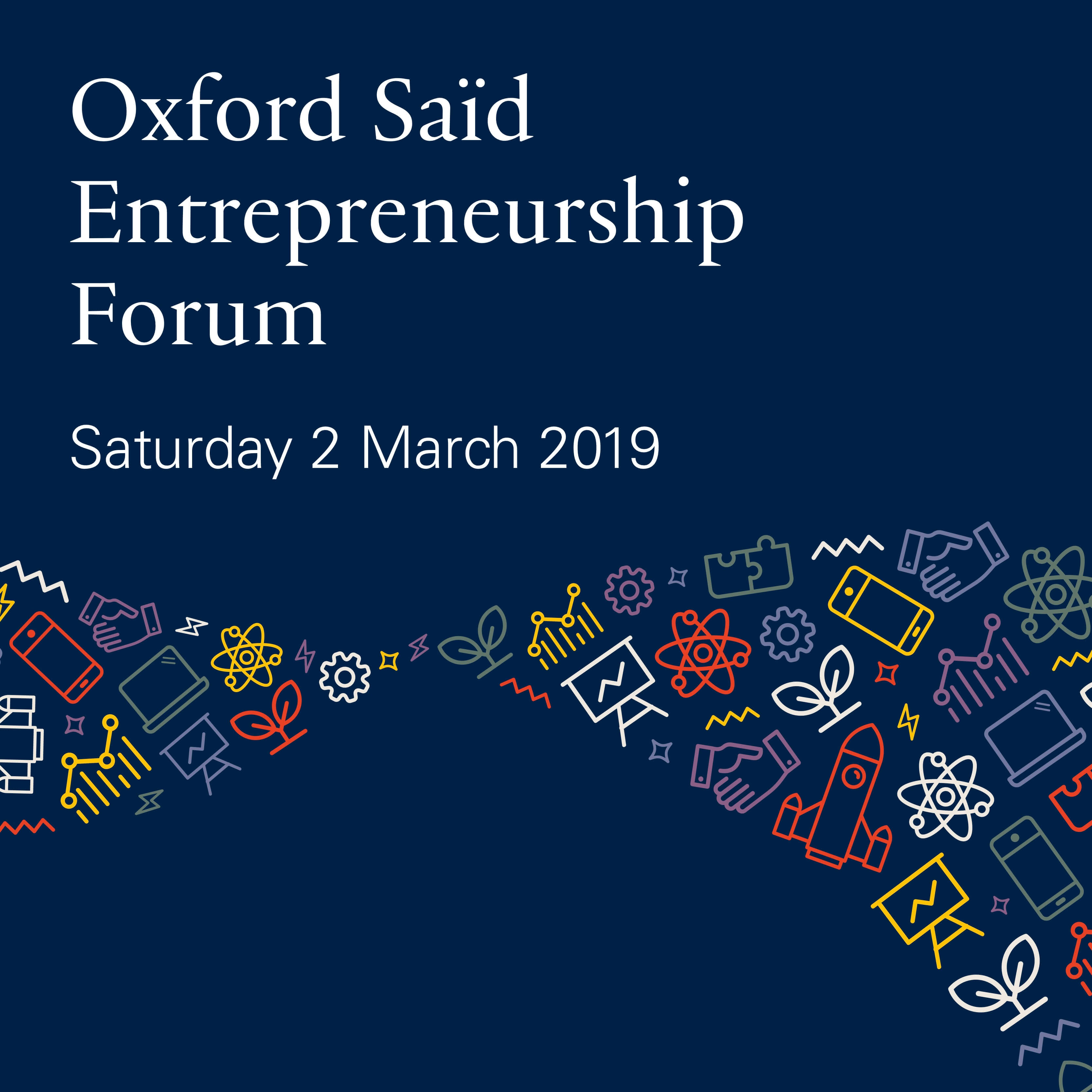 Oxford Saïd Entrepreneurship Forum