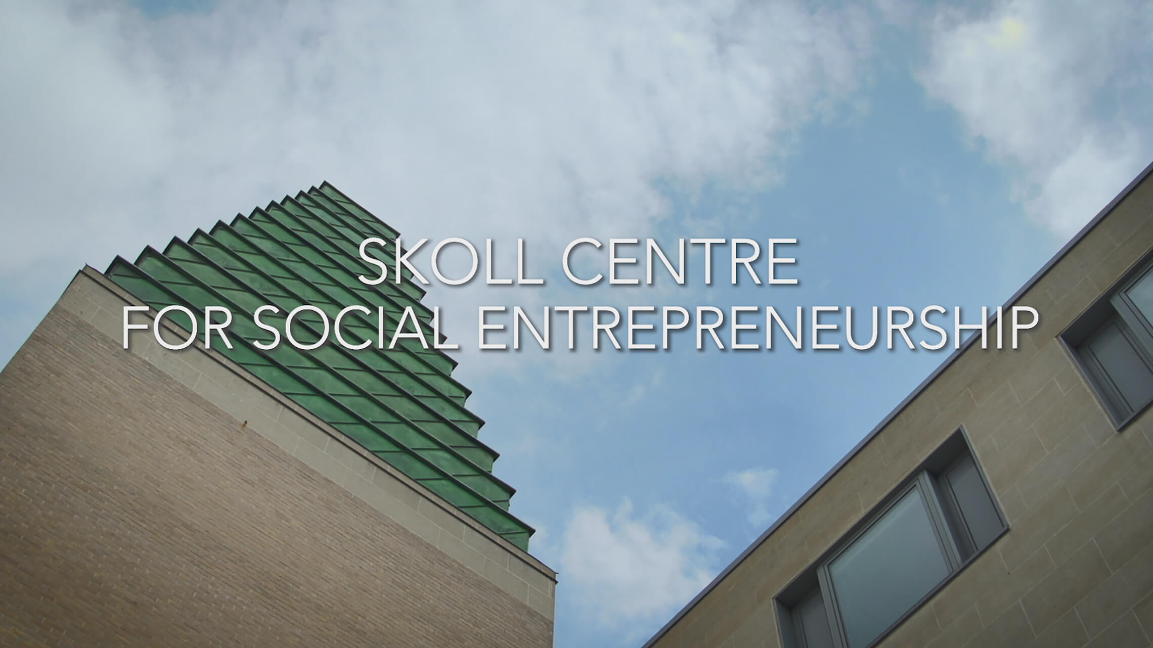 Skoll Centre for Social Entrepreneurship video thumbnail