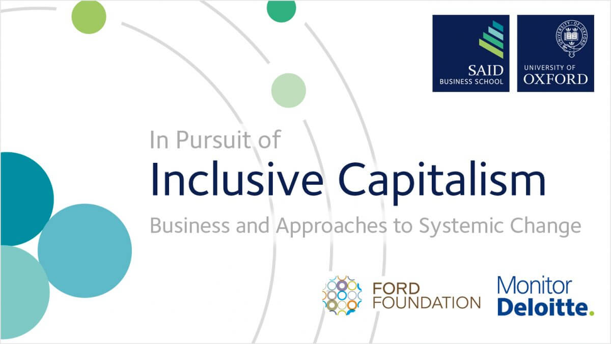 Ford inclusive capitalism report front cover