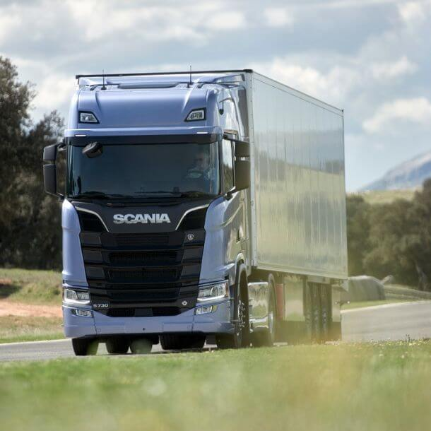 Scania lorry image