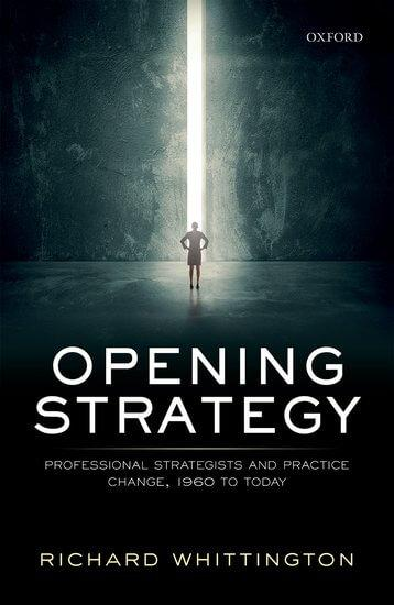 Opening Strategy by Richard Whittington - book cover