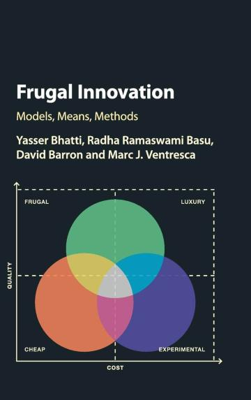 Frugal Innovation – book cover