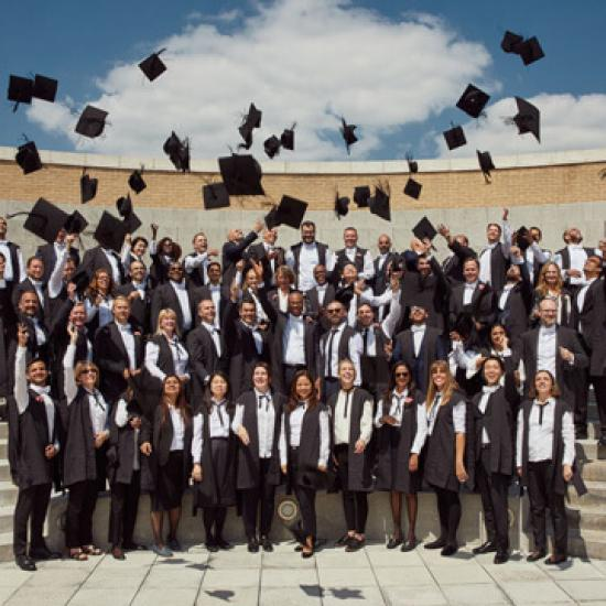 Diploma in Organisational Leadership class photo