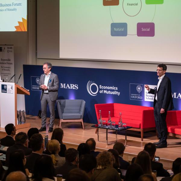 Responsible Business Forum:The Economics of Mutuality