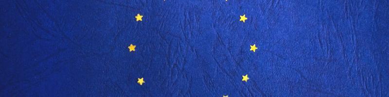European Union flag missing a star