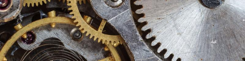 complex systems represented by gears