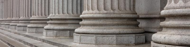 A colonnade