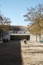 Saïd Business School courtyard and amphitheatre