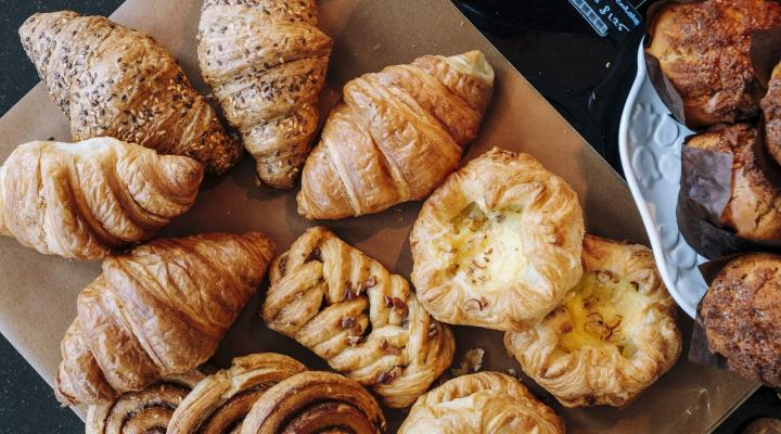 pastries and other freshly baked goods