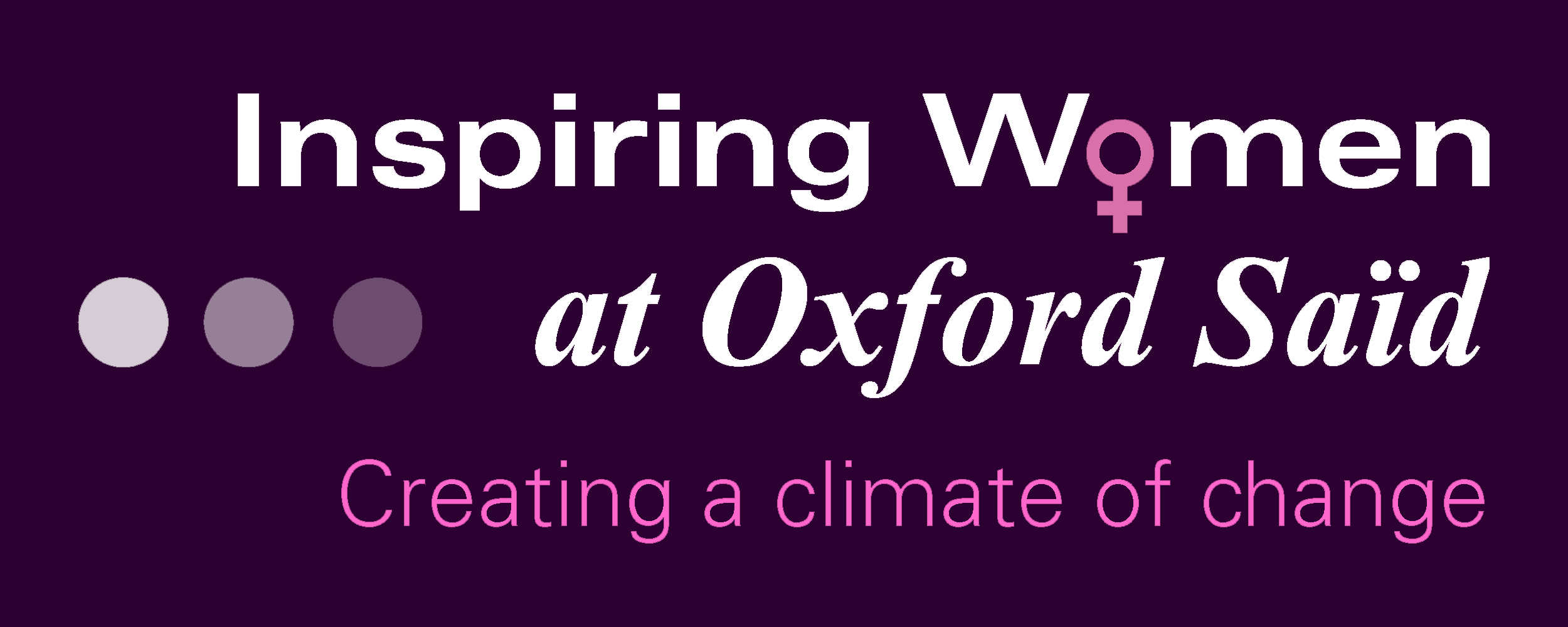 Inspiring Women at Oxford Saïd: Creating a climate of change